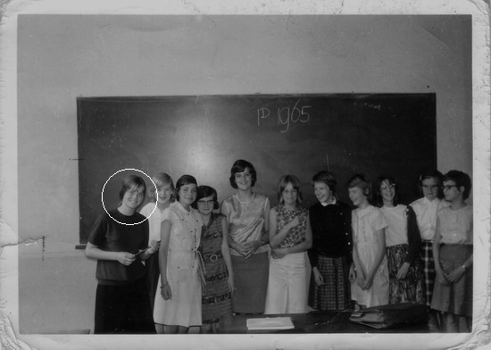 10.      1965. Klas 1d, St. Michaëls College.