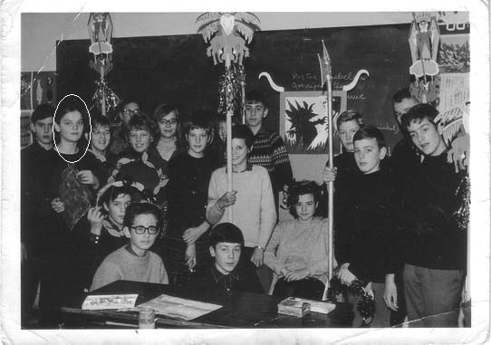 14.    1966. Klas 2a, St. Michaëls College.